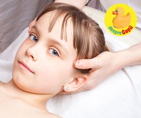 Infografic: Ajutor natural pentru dureri de cap la copil
