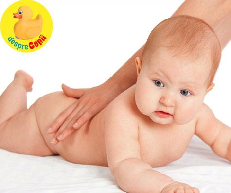 Masajul poate ajuta la tratarea racelii si nasucului infundat al bebelusului