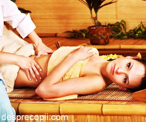 Masajul remodeleaza abdomenul proaspetelor mamici