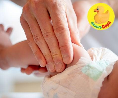 Putem face MASAJ bebelusului inca din prima luna de viata - si iata cate beneficii va avea bebelusul
