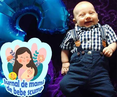 Bebe are 3 luni. Avem o rutina, doarme in patut si am depasit cu bine o depresie postnatala - jurnal de mami de bebe scump