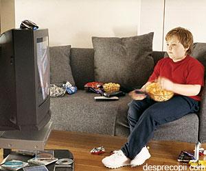 Televizorul si obezitatea copilului