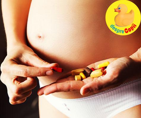Ce medicamente pot lua in sarcina si de care trebuie sa ma feresc?