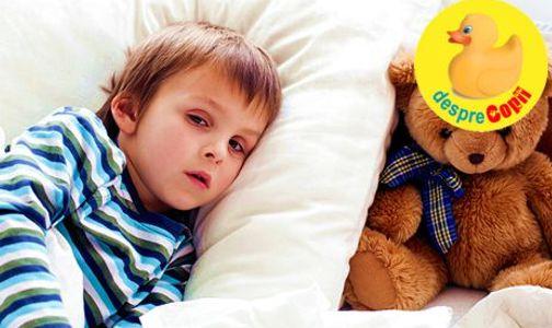 Meningita la copil: simptome in functie de varsta, debut si tratament