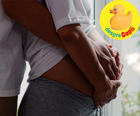 Scrisoarea unui bebe din burtica mamei - jurnal de sarcina