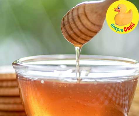 Mierea este mai buna pentru raceli decat medicamentele. Un nou studiu confirma.