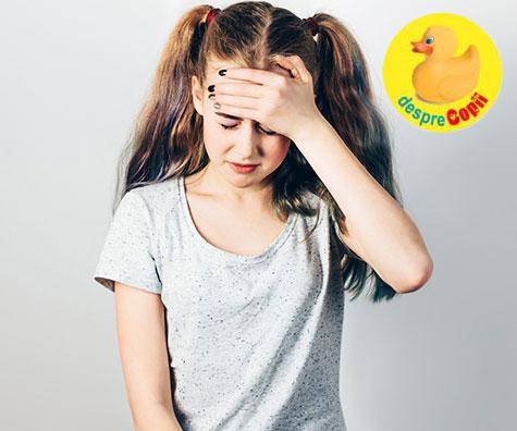 Migrenele la fete si adolescente