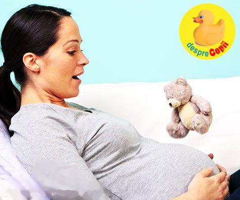 Despre primele miscari ale bebelusului in burtica sau despre a misca sau a nu misca