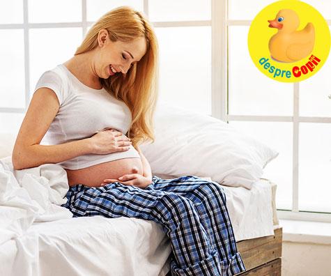Cand voi simti primele miscari ale bebelusului? Iata raspunsul medicului.