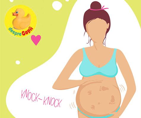 Activitatea fetala in sarcina: cand vei simti miscarile bebelusului, cat de des si cand ne putem ingrijora