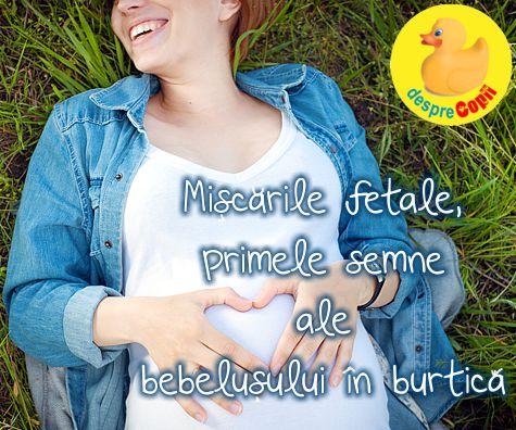 Miscarile fetale, primele semne ale bebelusului in burtica mamei