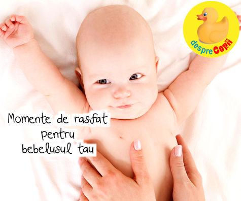 Momente de rasfat pentru bebelusul tau sau de ce bebe are nevoie de un spa