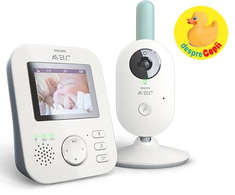 Retragere voluntara de pe piata a produsului: monitor video digital pentru copii Philips Avent (SCD620)
