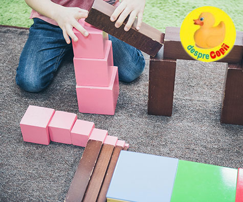 Educatia prin metoda Montessori - sau educatia personalizata