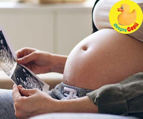 Am facut morfologia din trimestrul 3 saptamana 30 - jurnal de sarcina