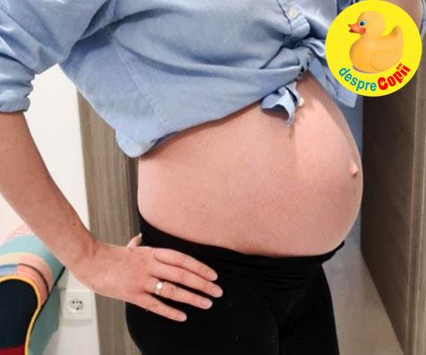 Morfologia de trimestrul 3 in saptamana 32 de sarcina - jurnal de sarcina