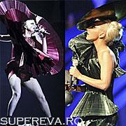 Tinute bizare la MTV 2011