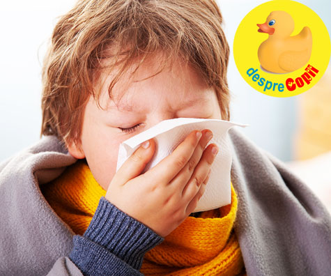 Copilul meu are secretiile nazale (muci) colorate. Are nevoie de antibiotice? Iata ce spune medicul.