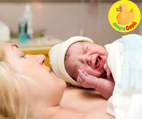 Am nascut natural la Spitalul Municipal Caracal - jurnal de nastere