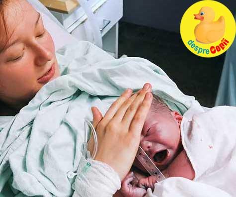 Am nascut la maternitatea de stat ca la privat - povesti de nastere