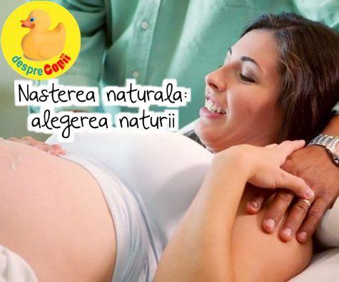 Nasterea naturala (vaginala)