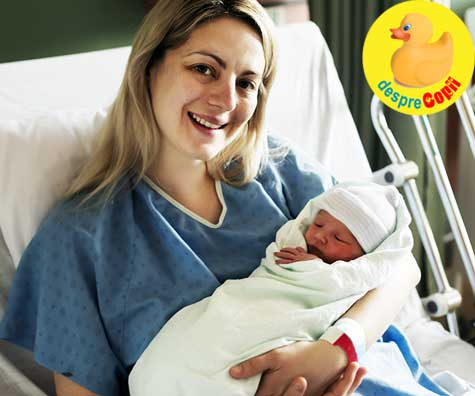 Greselile mamicilor dupa cezariana: cred ca viitoarea nastere trebuie sa fie tot prin cezariana