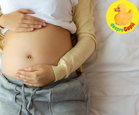 La 39 de ani - decizia intre nastere naturala si cezariana - jurnal de sarcina