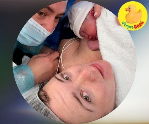 Un bebe miracol dupa trei avorturi spontane provocate de stres si panica: confesiunile unei mamici