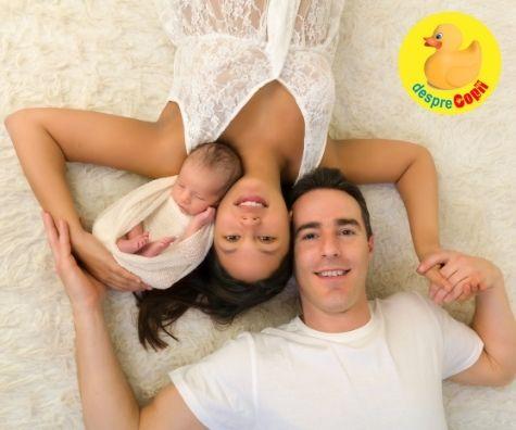 Nu ma dilatam deloc iar bebe nu era pozitionat bine asa ca am nascut prin cezariana: nasterea puiului meu