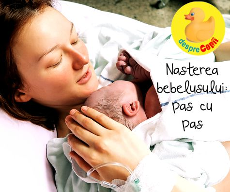 Nasterea bebelusului pas cu pas: pregatiri, stadii si cum decurge