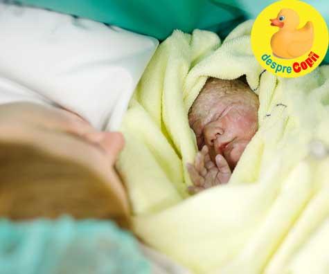 Bebelusii nascuti prin cezariana: iata cum ii afecteaza acest mod de a veni pe lume