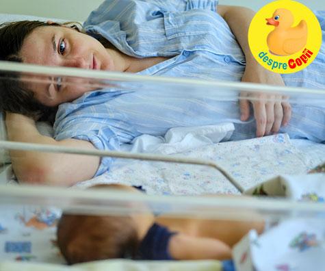 Nasterea la spitalul din Vaslui dupa ce am fugit din spitalul din Bacau - jurnal de nastere