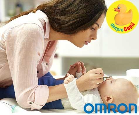 Un nasuc curat inseamna un bebe odihnit. Aspirator nazal si nebulizator in acelasi aparat super util.