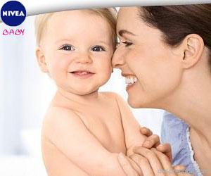 NIVEA Baby are grija de pielea bebelusilor, baita dupa baita