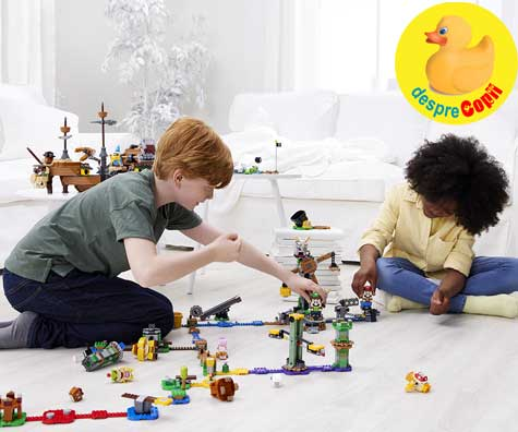 Grupul LEGO introduce modul 2-player in universul LEGO® Super Mario™
