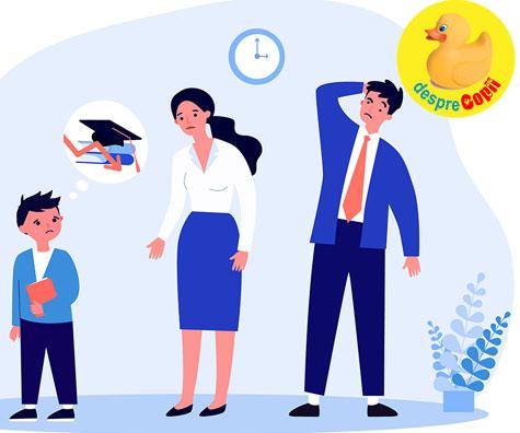 Notele de la scoala: cum ar trebui parintii sa reactioneze la notele mici ale copiilor lor pentru a-i ajuta