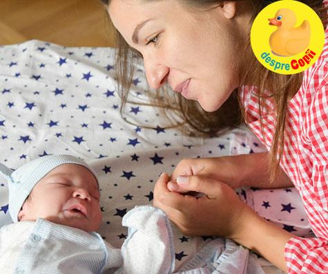 Prima noapte cu bebelusul acasa - sfaturile medicului pediatru