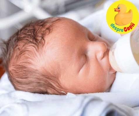 Esential pentru succesul alaptarii bebelusului: nu accepta ca nou nascutul tau sa primeasca lapte formula de in maternitate