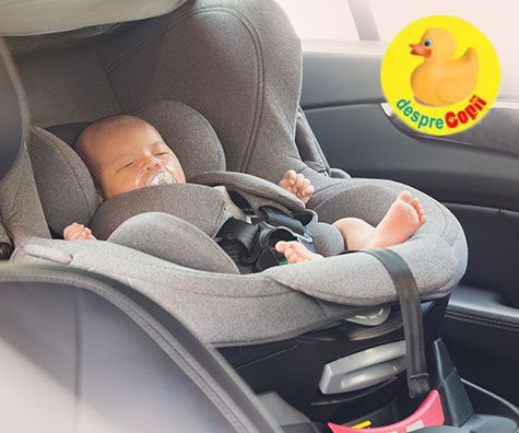 Frica de a merge cu un nou-nascut in masina sau de ce primele drumuri sunt asa stresante