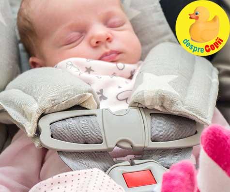 Greselile parintilor de bebelusi: Scaunul de masina, cum se instaleaza si cum trebuie plasat bebelusul in siguranta ul auto