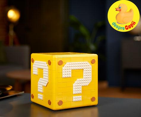 Noul set LEGO® Super Mario 64™? Block se alatura universului LEGO® Super Mario™