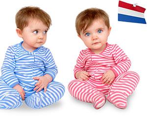 Cele mai populare nume de copii in Olanda