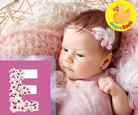 Nume de fete care incep cu litera E - pentru imaginatie, independenta si libertate