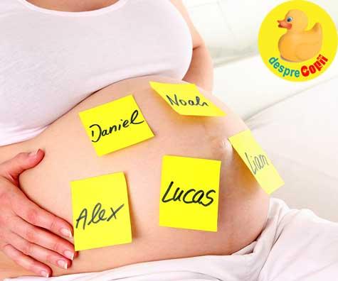 Am ales pentru bebe un nume romanesc, de sfant - jurnal de sarcina