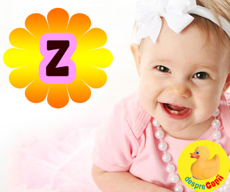 Nume de fete care incep cu litera Z. Pentru rafinament, autenticitate si noroc