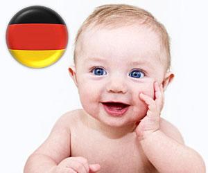 Nume populare de copii in Germania