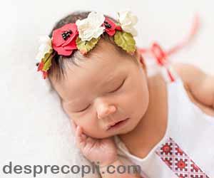 Nume sfinte pentru fetitele nascute in Aprilie