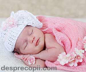 Nume sfinte pentru fetitele nascute in Iunie