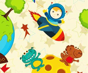 Nume de copii cu tema spatiala