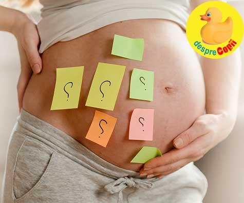 Numele bebelusului ne da de furca - jurnal de sarcina